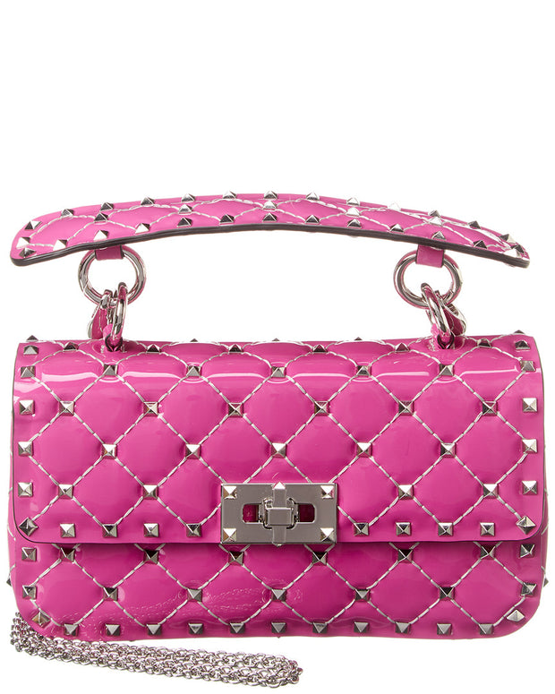 Valentino Rockstud Spike Small Leather Shoulder Bag