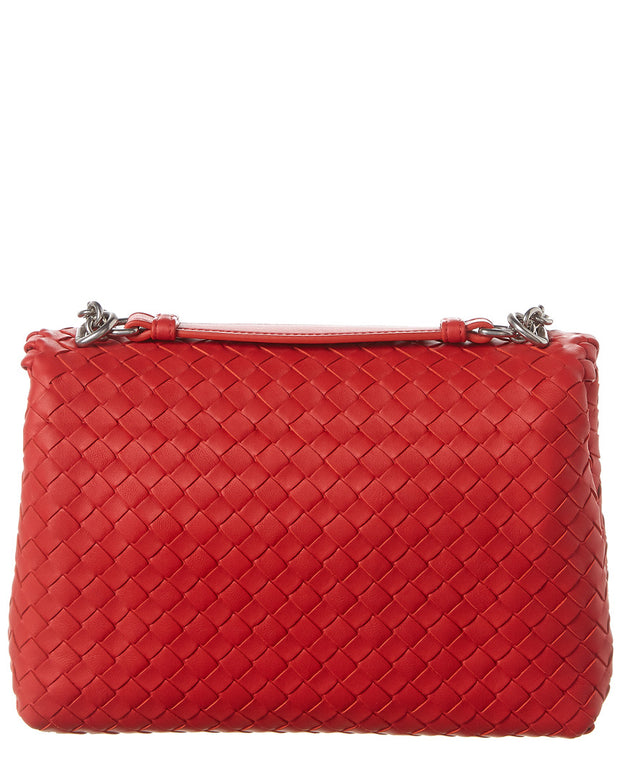Bottega Veneta Small Olimpia Intrecciato Nappa Leather Shoulder Bag