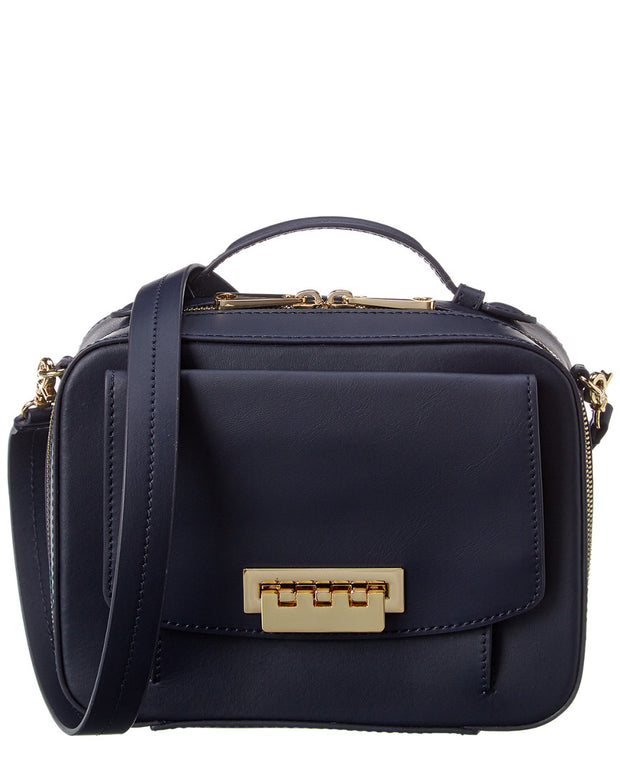 Zac Zac Posen Earthette Leather Shoulder Box Bag