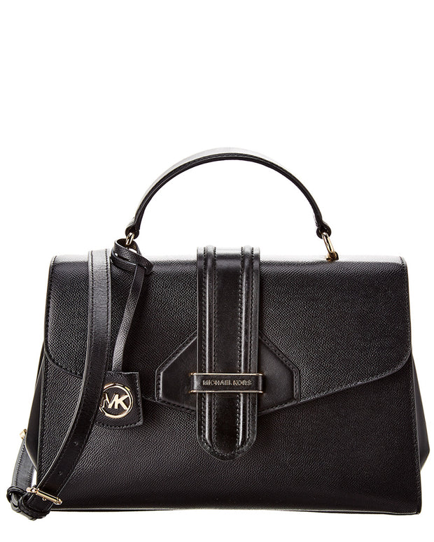 Michael Michael Kors Bleeker Leather Satchel
