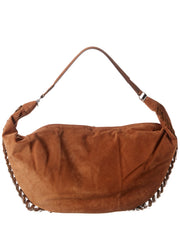 The Row Sling 15 Suede Shoulder Bag