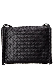Bottega Veneta Bv Fold Medium Intrecciato Leather Shoulder Bag