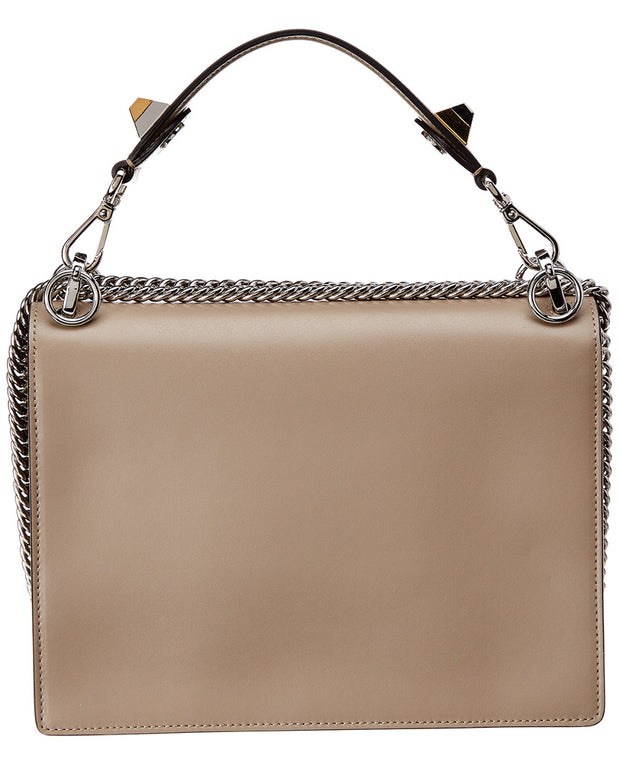Fendi Kan I Ribbon Leather Shoulder Bag