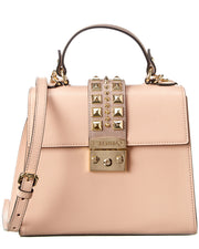 Valentino By Mario Valentino Cleo Leather Satchel
