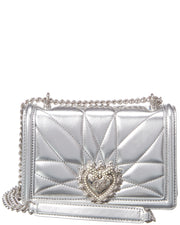 Dolce & Gabbana Devotion Quilted Leather Shoulder Bag