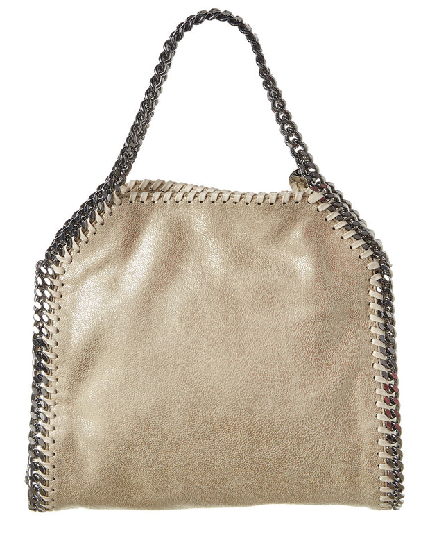 Stella Mccartney Falabella Mini Metallic Tote