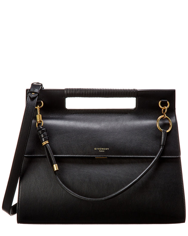 Givenchy Whip Large Leather Shoulder Bag