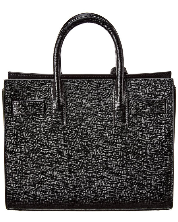Saint Laurent Nano Sac De Jour Leather Tote
