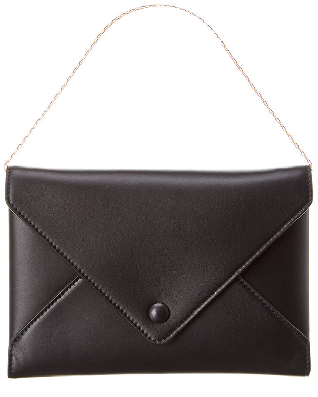 The Row Envelope Leather Wallet On Chain