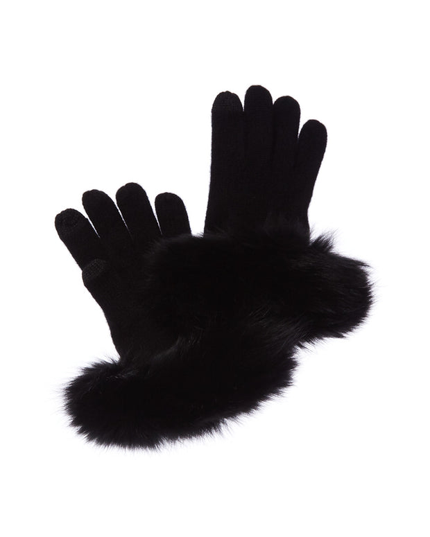 Sofiacashmere Tech Cashmere Gloves
