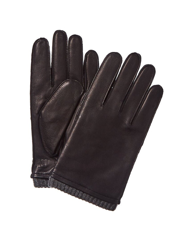 Bruno Magli Cashmere-Lined Leather Glove