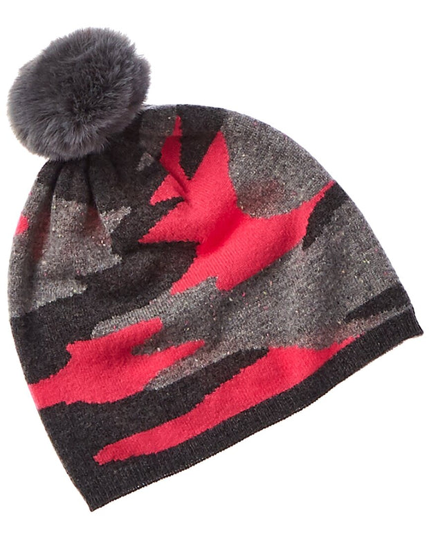 Scott & Scott London Camo Cashmere Hat