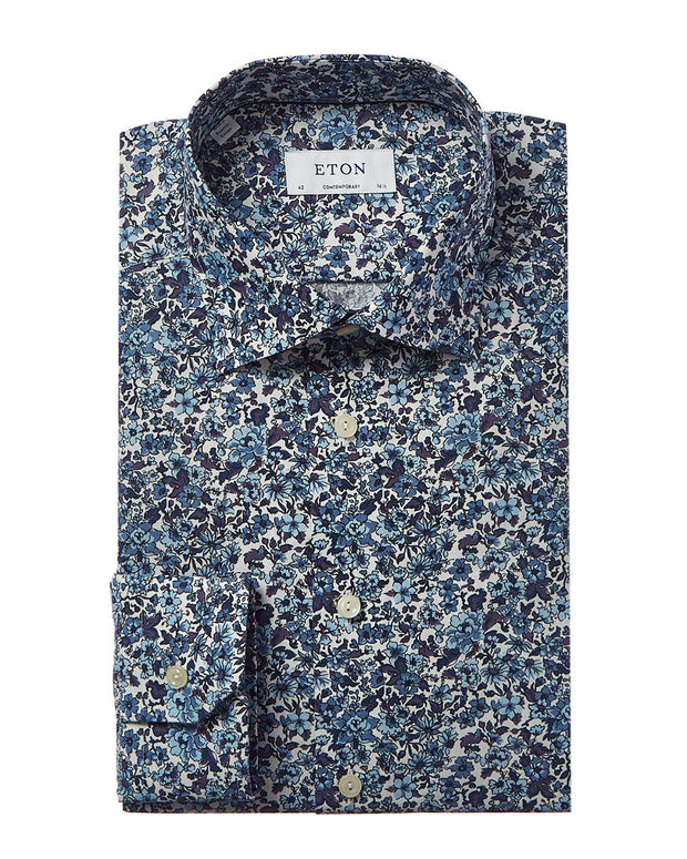 Eton Contemporary Fit Dress Shirt