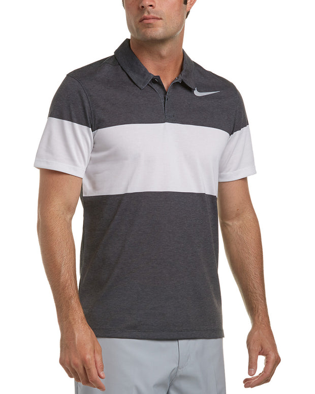 Nike Golf Modern Fit Color Block Polo
