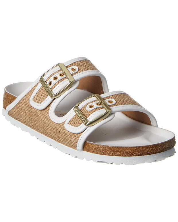 Birkenstock Arizona Jute & Leather Sandal