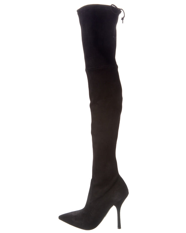 Stuart Weitzman Anneliese Suede Over-The-Knee Boot