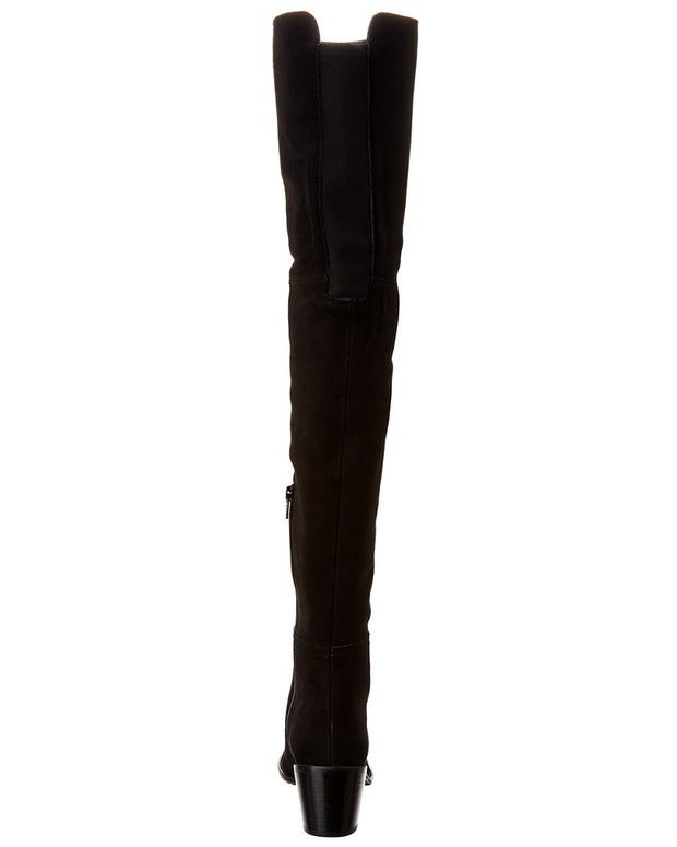 Stuart Weitzman Hitest Suede Over-The-Knee Boot