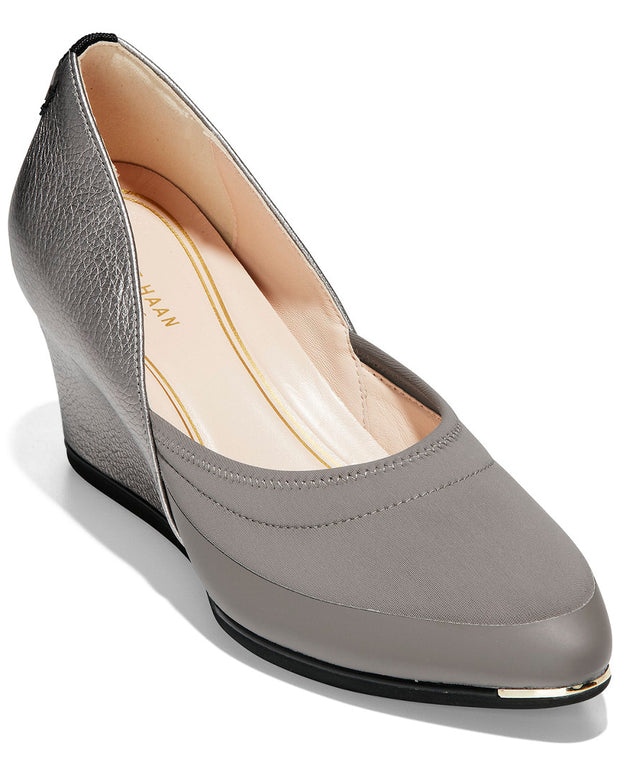 Cole Haan Grand Ambition 55 Leather Wedge