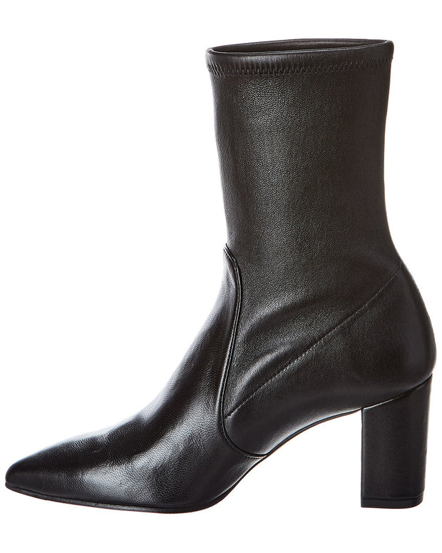 Stuart Weitzman Landry 75 Leather Bootie