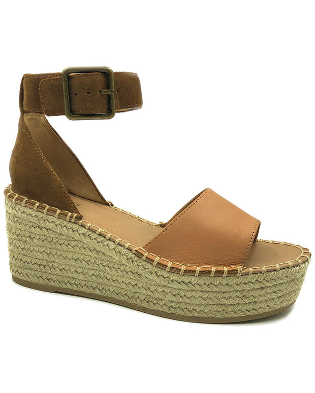 Soludos Palermo Leather & Suede Platform Wedge