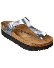 Birkenstock Women's Gizeh Platform By Papillio Leather Sandal