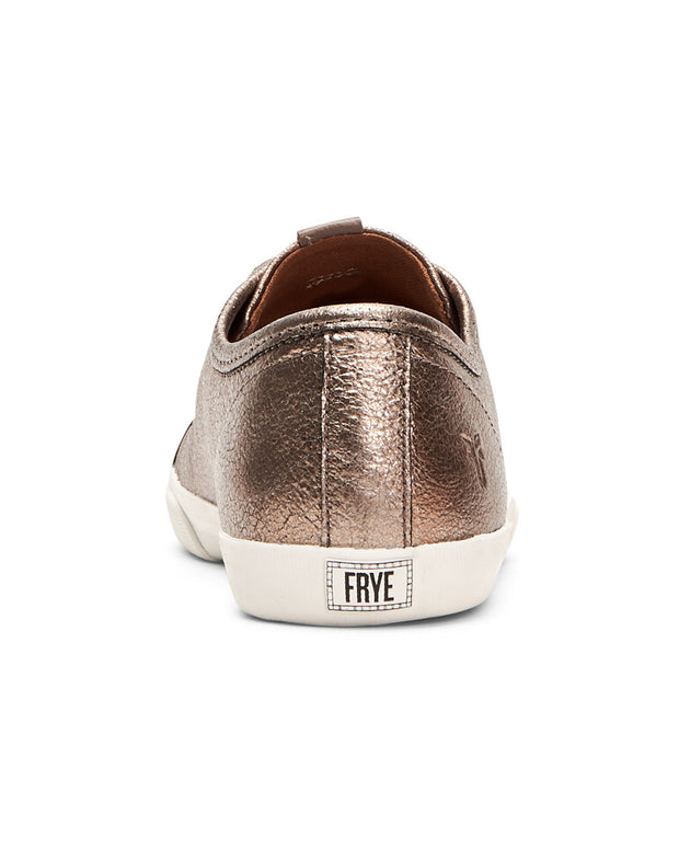 Frye Maya Leather Low Lace Sneaker