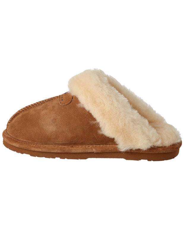 Bearpaw Cozy Loki Ii Suede Slipper