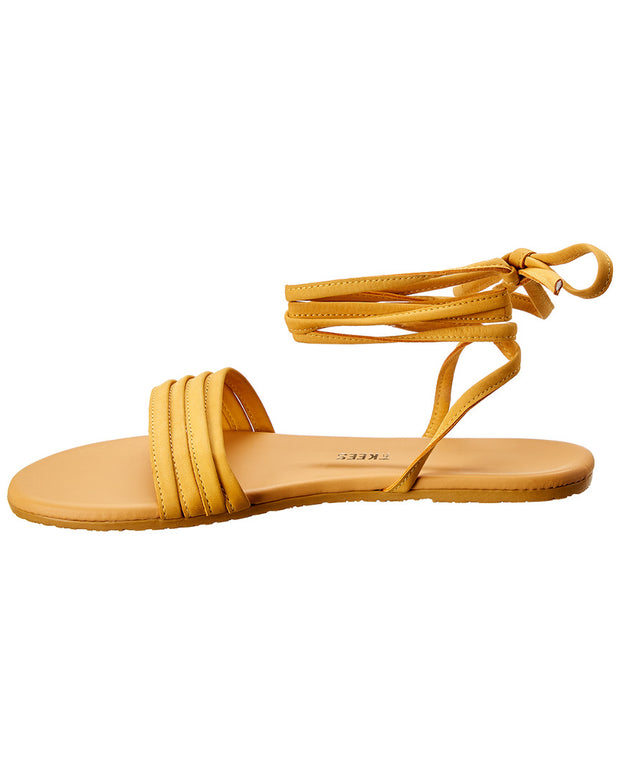 Tkees Olly Leather & Suede Sandal