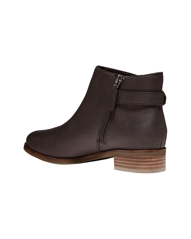 Cole Haan Lilah Buckle Leather Bootie