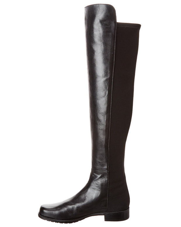 Stuart Weitzman 5050 Leather Over-The-Knee Boot