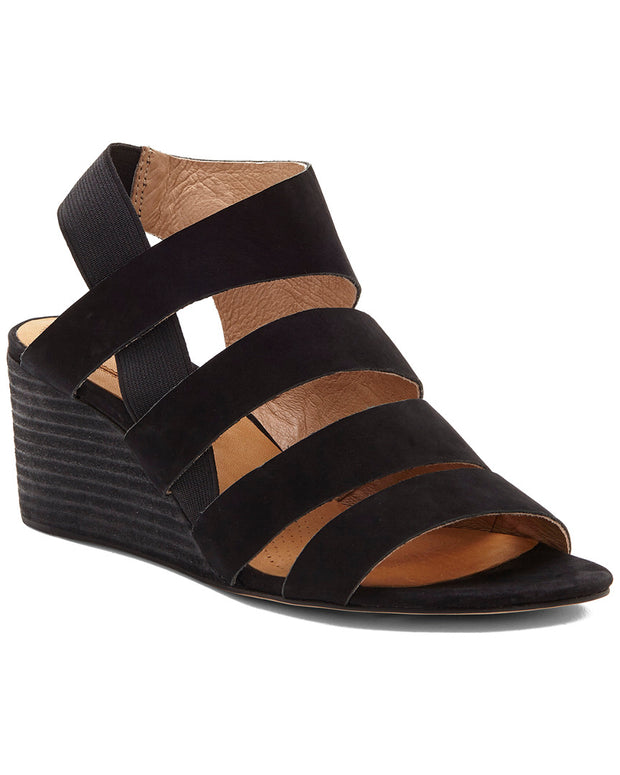 Corso Como Ontariss Leather Wedge Sandal