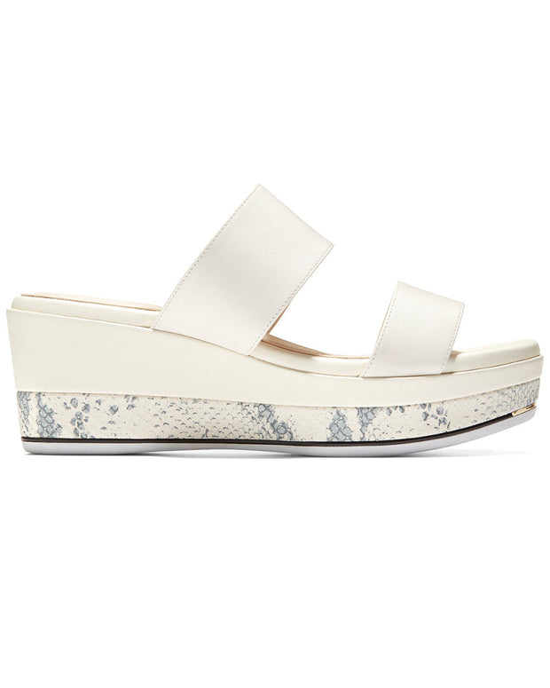 Cole Haan Grand Ambition Leather Wedge Slide
