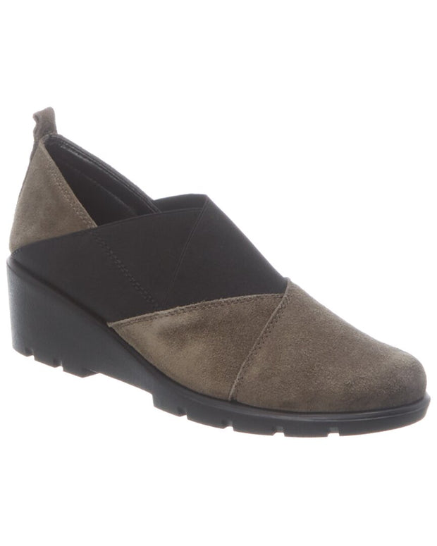 The Flexx Crosstown Suede Wedge