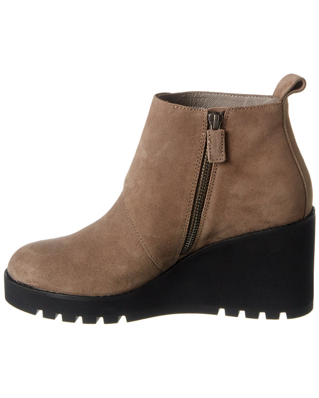 Eileen Fisher Tinker Suede Wedge Bootie