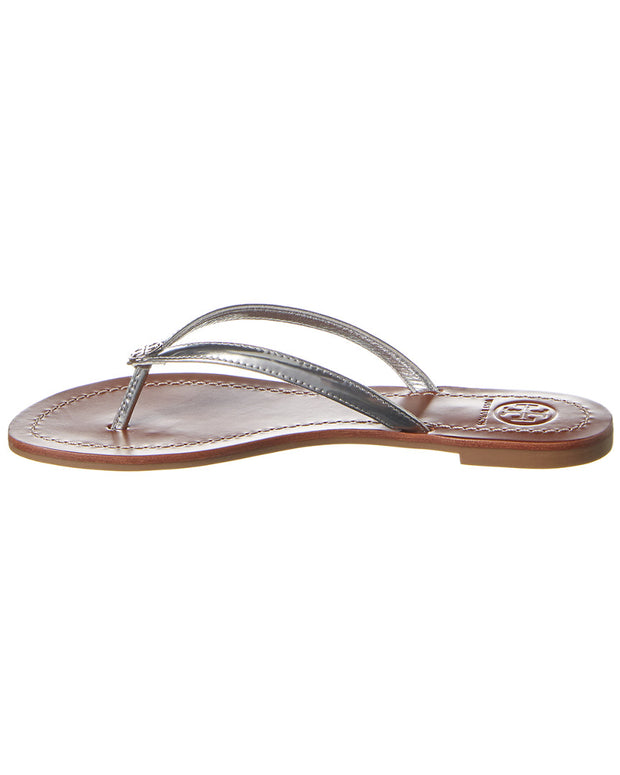 Tory Burch Terra Leather Thong Sandal