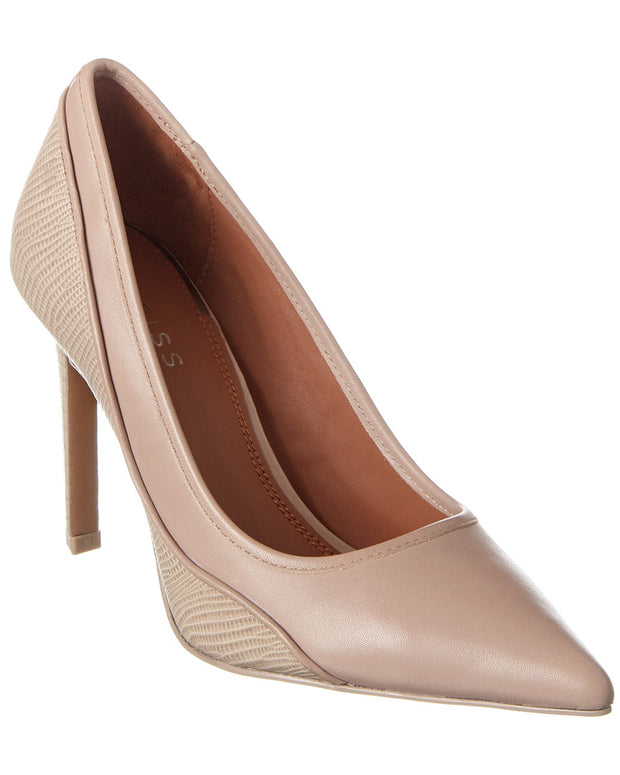 Reiss Maddy Leather Pump