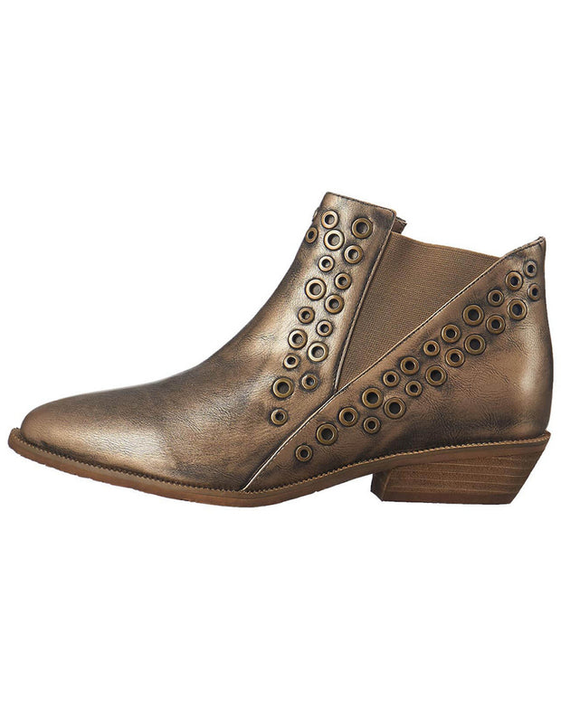 Antelope 342 Leather Double Punch Bootie
