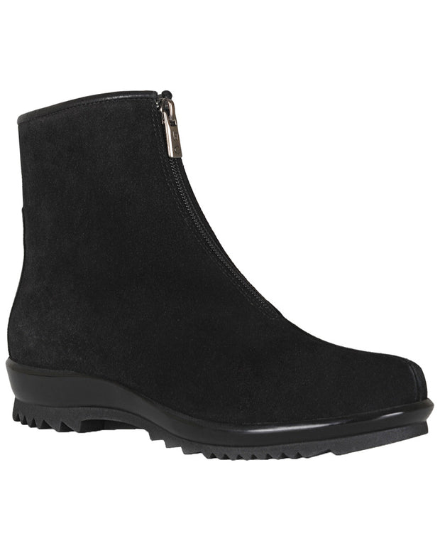 La Canadienne Tiana Waterproof Suede Ankle Bootie
