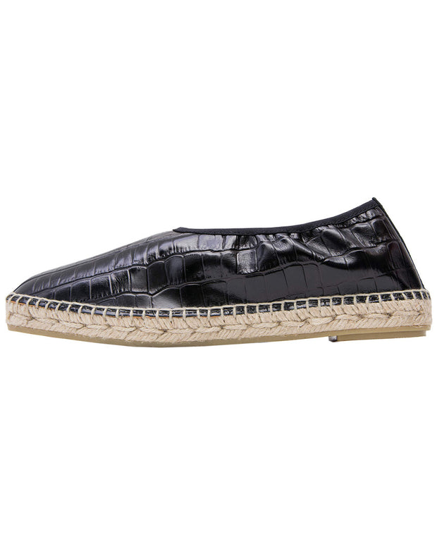 Andre Assous Loraine Leather Espadrille Flat