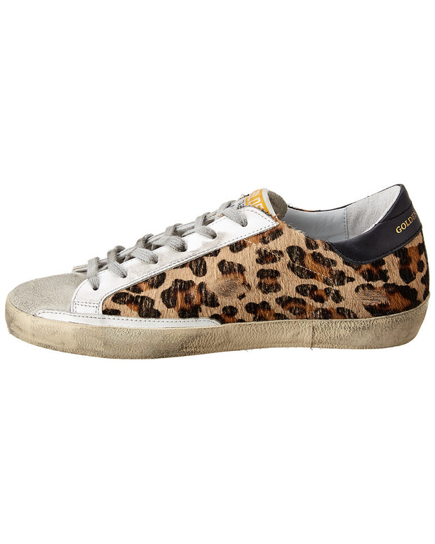 Golden Goose Superstar Haircalf Sneaker