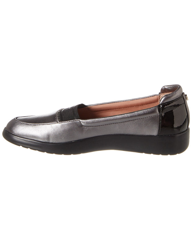 Taryn Rose Tiffany Weatherproof Leather Slip-On