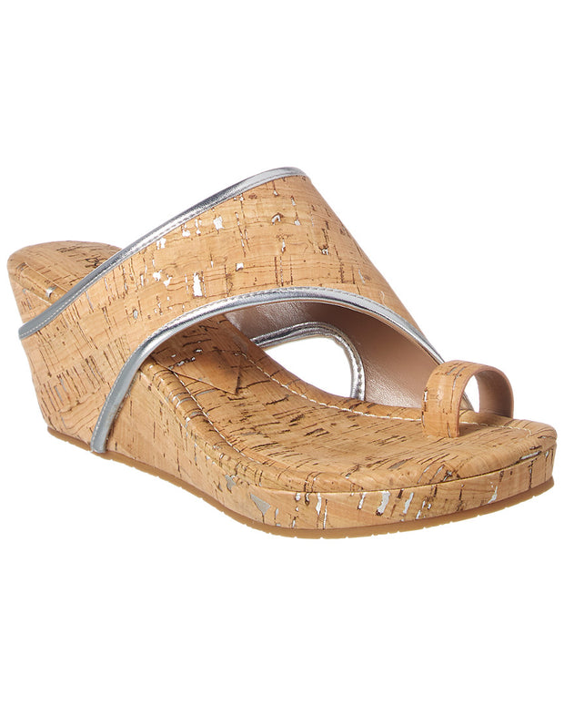 Donald Pliner Gyer2 Metallic Wedge Sandal