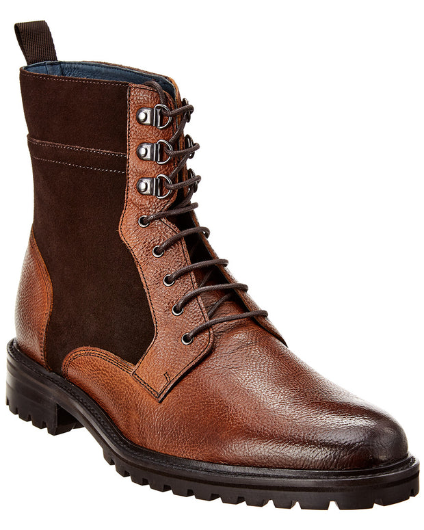 Rush By Gordon Rush Leather & Suede Boot
