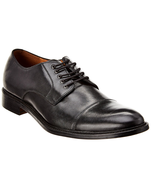 Winthrop Shoes Cap Toe Leather Oxford