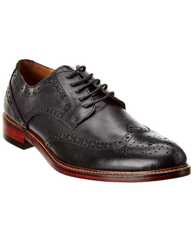 Winthrop Shoes Wingtip Leather Derby