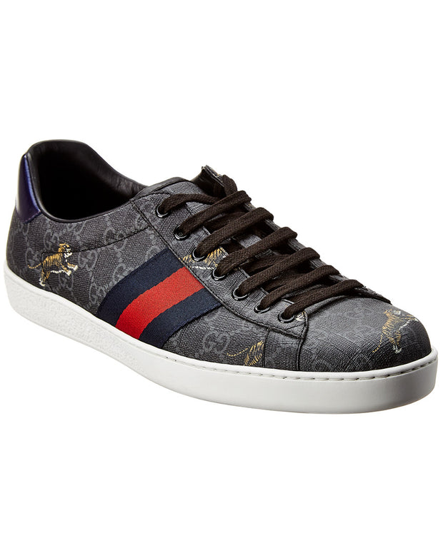 Gucci Gg Ace Leather Sneaker