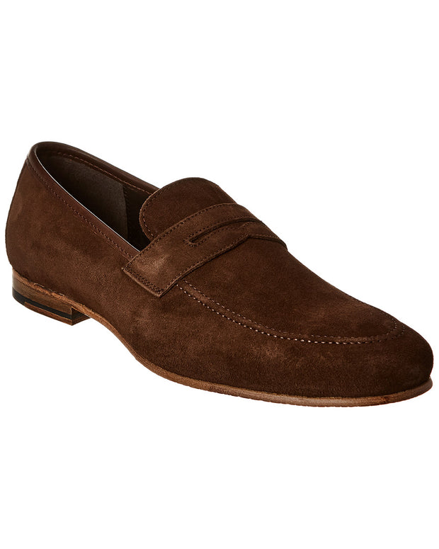 Nettleton Shoes Suede Penny Loafer