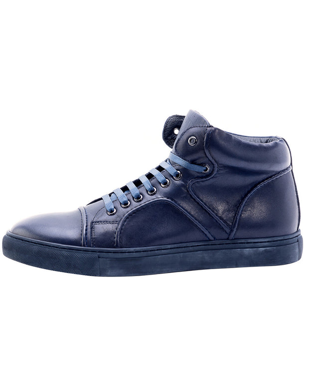 Zanzara Vinyl Leather Sneaker