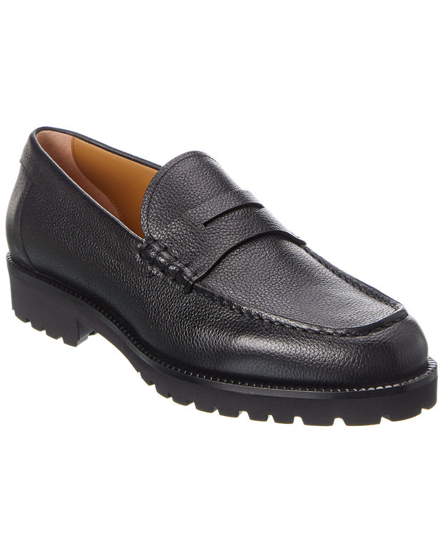 Hugo Boss Edenlug Leather Loafer
