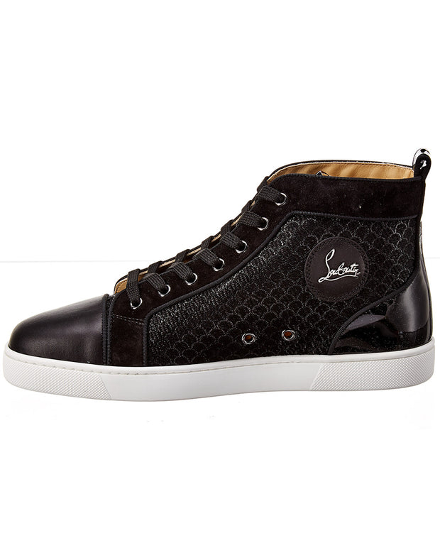 Christian Louboutin Louis Orlato Leather & Suede Sneaker